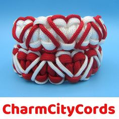 This bracelet is perfect for Valentines Day. You get to choose the Red bracelet with white hearts or the White bracelet with red hearts. This bracelet also makes a great gift to let that someone special how much you care.#valentinesday #valentinesdaybracelet #valentinesdaygift #sweetheartbracelet #heartbracelet
