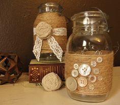 Another idea for mason jars.