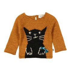 Cat Baby Alpaca Wool Jumper-product