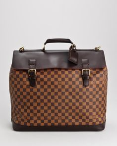 Louis Vuitton LU Damier Ebene West End GM Weekender Bag- Made in France at Modnique.com