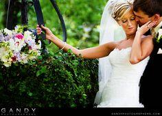 Bride and Groom at Plantation wedding