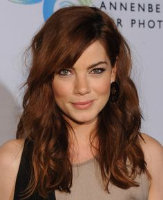 Michelle Monaghan Hair - love the cut and color