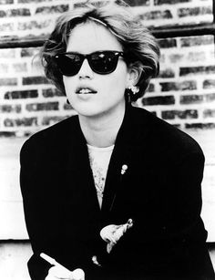 Molly Ringwald. I will forever love her even though I got sick of being told I looked like her when I was in college.
