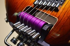 Headless Guitar Bridge : Rick Toone Guitars