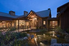 Exterior 8, Chimney Rock Residence, Locati Architects, Photo by Roger Wade Studio