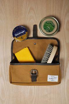 Sandqvist X Grandpa | Leather care kit |Colab Luxor, Travel Style, Cavalier
