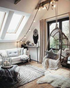 LED Lichterkette Optika - Diy İdeas for Home Room Makeover, Aesthetic Room Decor, Room Design, Living Room Sets, Tumblr Room Decor, Bedroom Design, Room Inspiration, Modern Bedroom, Aesthetic Bedroom