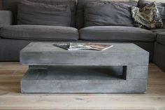 concrete coffee table                                                                                                                                                      More