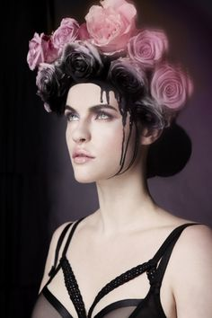 Online portfolio of photographer Helen Sobiralski Photography Portfolio, Portrait Photography, Kirsty Mitchell, Flower Crown Hairstyle, Black Dahlia, Floral Headpiece, Feminist Art, Flower Fashion, Female Portrait