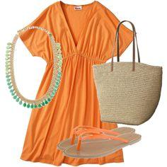 Beachy Keen (perfect summer beach/pool dress).