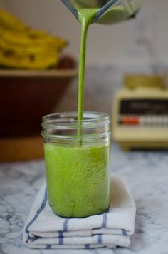 Superpower Morning Smoothie - sounds good if you leave out the flax oil