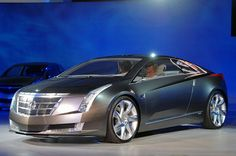 Cadillac. Not much of a car girl, but I'd drive this one. Something about that color.