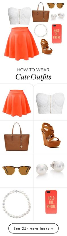"""""""Cute outfit for shopping with friends."""" by catelynbeecham on Polyvore"""
