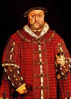 Portrait of Henry VIII  - Hans Holbein the Younger http://www.wikipaintings.org/en/hans-holbein-the-younger/portrait-of-henry-viii