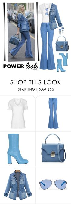"""""""Oogum Boogum PowerLook #MusicPlaylist"""" by theseapearl ❤ liked on Polyvore featuring Étoile Isabel Marant, STELLA McCARTNEY, MSGM, Alexander McQueen, Ralph Lauren, Chico's, SkyBlue, Boots, jeanjackets and bellbottoms"""