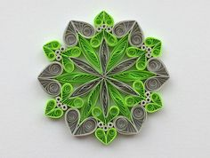 Quilled Snowflakes Paper Quilling Art Christmas Tree Decor