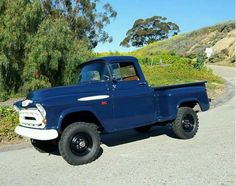 1954 Chevy Truck, Classic Chevy Trucks, Chevrolet Trucks, Old Pickup Trucks, Gm Trucks, Diesel Trucks, Lifted Trucks, Gmc 4x4, Chevy 4x4
