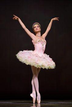 Mathilde Froustey as Sugar Plum fairy in Tomasson's Nutcracker