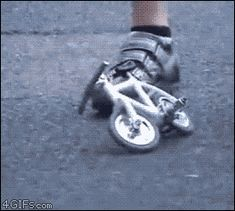 Mini bike.