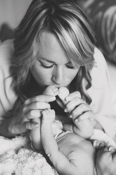 #baby #cute #love #mother #kiss