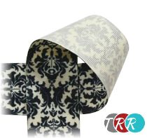 "DAMASK Ribbon - Grosgrain - 7/8"" and 1 1/2"""