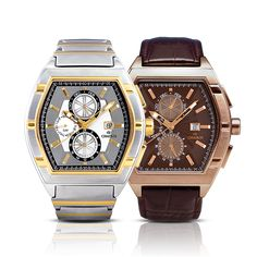 Chairos® Exagon  Stylish timepieces specially crafted for men