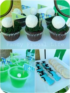 Golf party!  I wonder if cake pops on upside down golf tees would be possible??