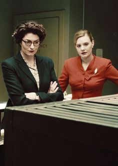 Lix & Bel: Anna Chancellor and Romola Garai in The Hour