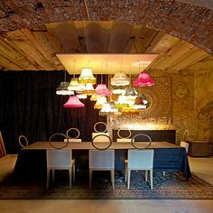 In Marseille, a former mill converted into loft - hanging MANY creates a whole different feeling