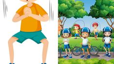 10 Best Exercises For Kids Workout List, Workout Songs, Fun Workouts, At Home Workouts, Fitness Activities, Activities For Kids, Running Techniques, Hanging Upside Down, School Reviews