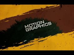 After effects tutorial : Text motion graphics | text animation in after ...
