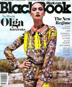 December/January 2013 issue of BlackBook