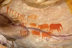 Rock Art of the Cederberg Mountains | Article for Red Carnation Blog