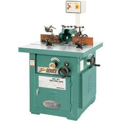 5 HP Professional Tilting Spindle Shaper - Z Series | Grizzly Industrial