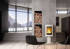 Tiffany Decorata The Tiffany Decorata has large grate door for better flame view and easier wood loading. This wood burning stove also features a new [. Mounted Fireplace, Freestanding Fireplace, Stove Fireplace, Fireplace Kitchen, Wood Fireplace, Fireplaces, Small Wood Burning Stove, Wood Burning Oven, Modern Wood Burning Stoves
