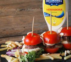 Hambúrgueres de Tomate - http://gostinhos.com/hamburgueres-de-tomate/