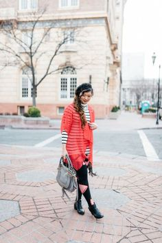 Inspiration look Day to night : LulaRoe Kimono: Valentines Day To Night Outfit   SandyALaMode