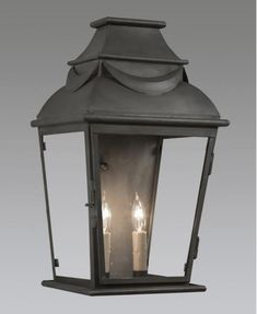 Coated heavy gauge copper two light with drape design wall mount lantern. Shown in standard longterne finish. Style H x 11 W x DAvailable i Metal Chandelier, Chandelier Shades, Chandelier Lighting, Pineapple Design, Antique Lighting, Fabric Shades, Wood And Metal, Wall Design, Outdoor Lighting