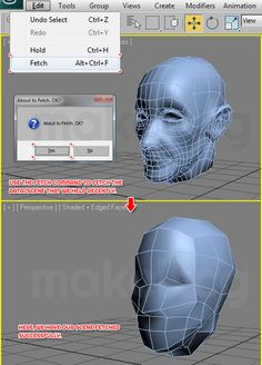 This tutorial will show you how to use Hold and Fetch commands in 3ds max. These commands can come in handy to restore the file in case of an unexpected crash. Enjoy