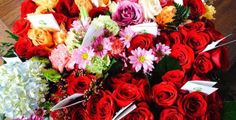 Unsold Flowers Become Bouquets for Hospice Patients on Valentine's Day