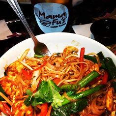 Selina, we feel you! Mama Fu's Thai Basil Noodles are worth making a trip for, no matter where you are - just remember to drive safely. :) Thank you for sharing this moment with us from #Austin, #Texas!