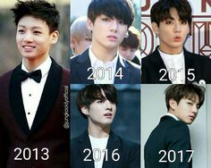 "13.7 mil curtidas, 175 comentários - BTS fanpage (@bts.bighotofficial) no Instagram: ""From 2013 to 2017 . . Cr in pic . . «∞ A r m y ∞ f o r e v e r ∞» . ∞●∞●∞●∞●∞●∞●∞●∞ . →╰Please…"""