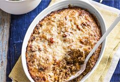 Enjoy this comforting, baked rice dish that originates from Malta. The Maltese name for it is ross il forn.