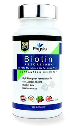 Physis Biotin Absorption Plus for Skin Hair Growth and Nail Health