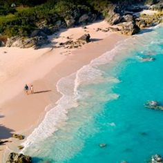Bermuda beaches - most beautiful in the world. And afternoon tea is so gracious!