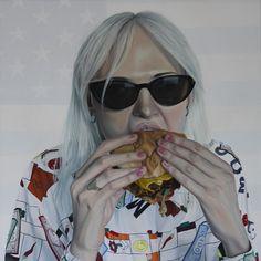 """""""Fast Food"""" - Tristan Pigott, oil on linen, 24x24"""""""