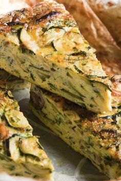 Induction diet recipe for Phase 1 of the Atkins Diet. This Zucchini Frittata is perfect for those in Phase 1 of the Atkins Diet or for anyone on a low carb diet. This recipe has net carbs per serving. Banting Recipes, Low Carb Recipes, Diet Recipes, Cooking Recipes, Healthy Recipes, Banting Diet, Recipies, Zucchini Frittata, Vegetable Frittata