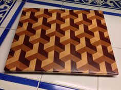 Quilt Pattern Cutting Board By Amagineer Lumberjocks