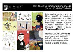 Una gran pérdida el fallecimiento de la maravillosa escritora mexicana Pascuala Corona.