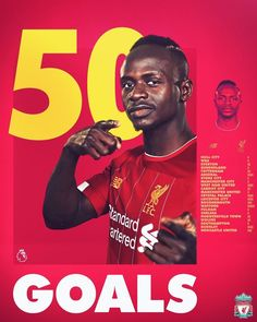 On his Premier League appearance for the Reds, Sadio Mane has now scored his goal in the Premier League for Liverpool! Mane Liverpool, Liverpool Fans, Liverpool Football Club, Ballon D'or, Manchester City, Manchester United, Premier League Goals, Huddersfield Town, Hull City